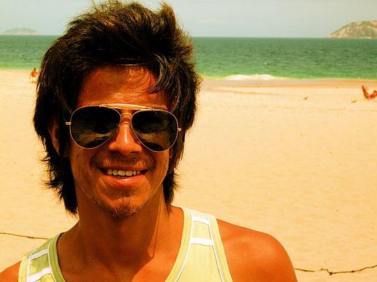 旅、EarthTribe、世界一周、ブログ、バックパッカー、トラベラー、画像、ブラジル、リオデジャネイロ、イパネマ海岸