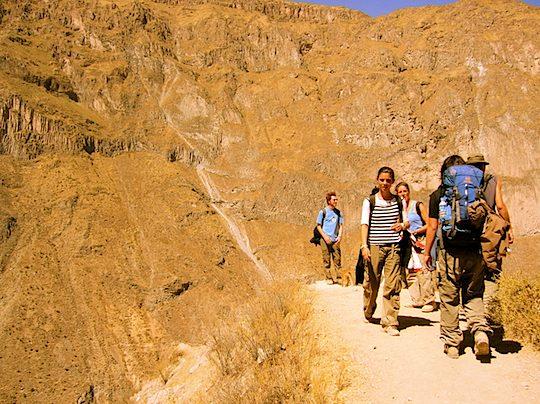 旅、村越慎司、EarthTribe、世界一周、ブログ、ペルー、コルカキャニオン