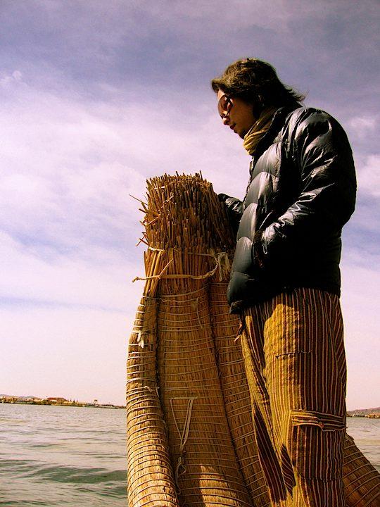 旅、村越慎司、EarthTribe、世界一周、ブログ、ペルー、チチカカ湖