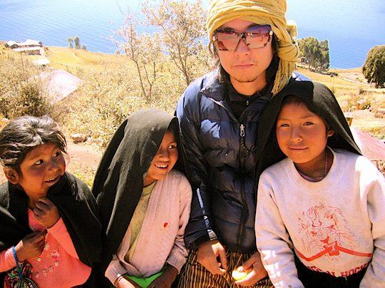P旅、村越慎司、EarthTribe、世界一周、ブログ、ペルー、チチカカ湖