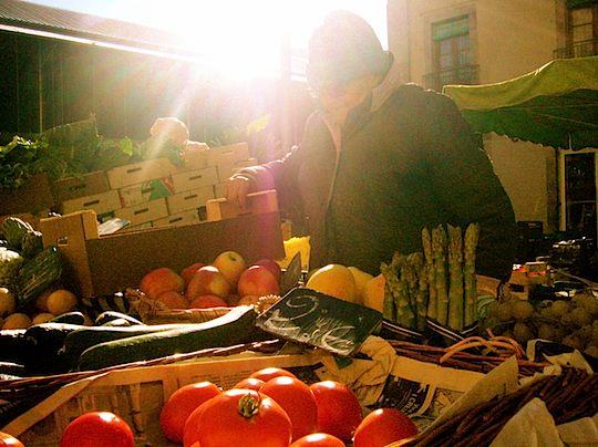 旅、EarthTribe、世界一周、ブログ、バックパッカー、トラベラー、画像、スペイン、バルセロナ、市場、たべもの、食べ物、料理